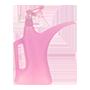 gieter en plantenspuit roze