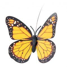 solar vlinder geel