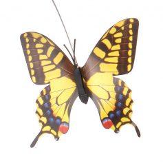 solar vlinder licht geel