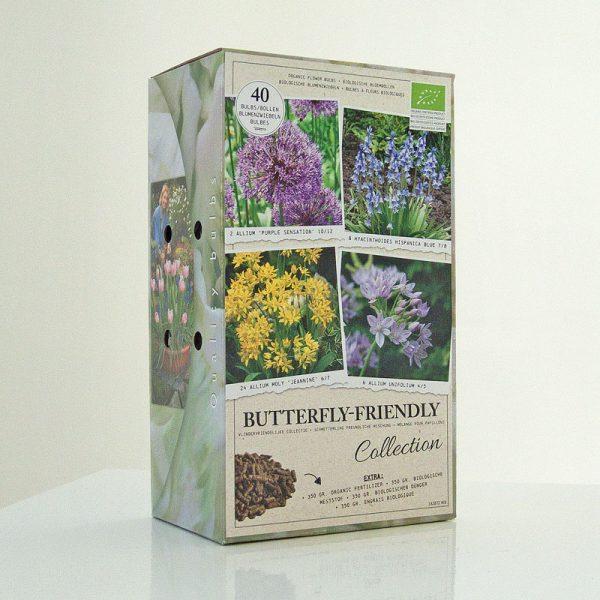 bio bloembollen vlinder collectie