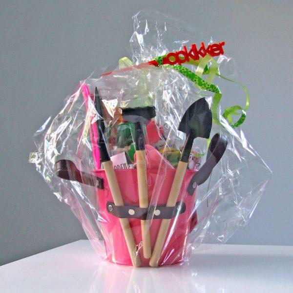 cadeaupakket opkikker roze
