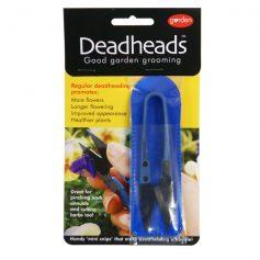 bloemenschaartje deadheads blauw