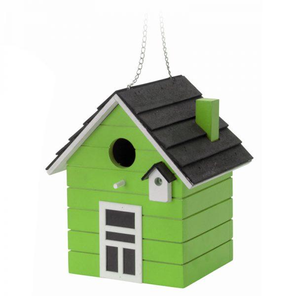 vogelhuis hout groen
