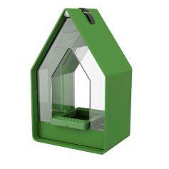 vogelvoer dispenser Landhaus groen