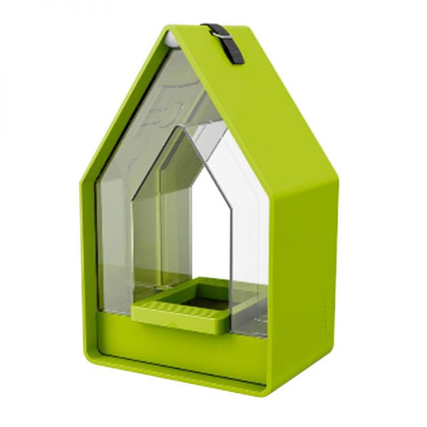 vogelvoer dispenser Landhaus lime
