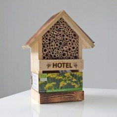 Bijenhotel met Allium Jeannine