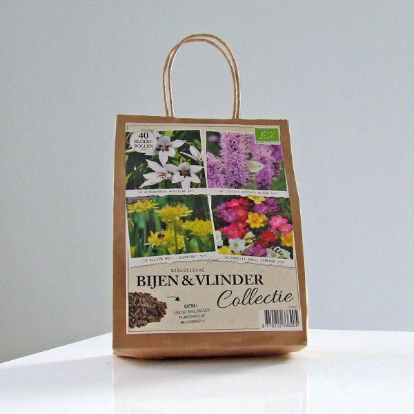 bio draagzak bijen en vlinder collectie