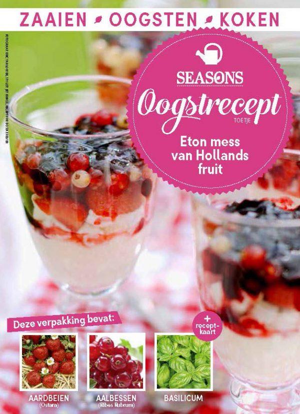 seasons oogstrecept eton mess van hollands fruit