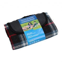 picknickdeken waterdicht blauw