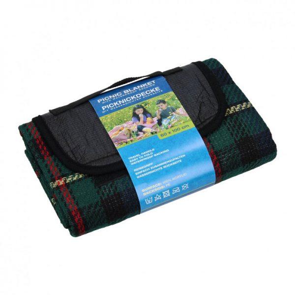 picknickdeken waterdicht groen