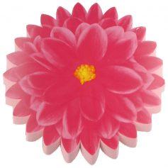 kniemat in bloemvorm roze