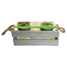 kistje salade zaden BIO