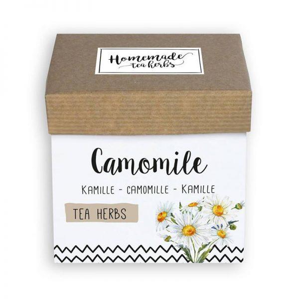 thee kruiden zaden pakket kamille