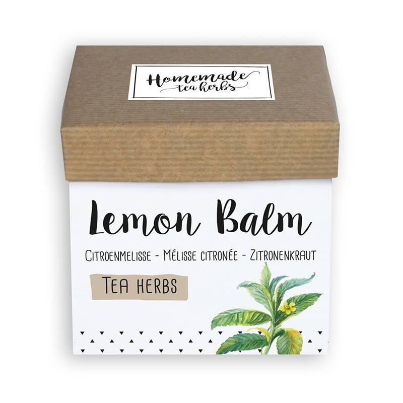 thee kruiden zaden pakket lemon balm
