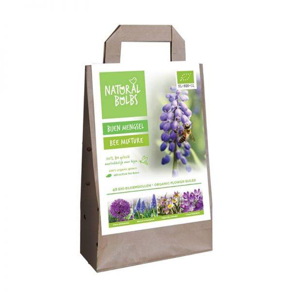 biologisch bijenmengsel afbeelding van de verpakking